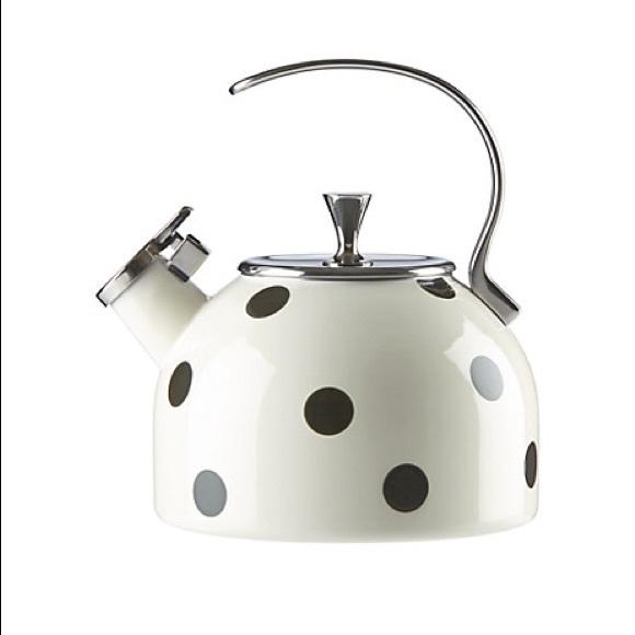 Kate Spade New York polka dot tea kettle